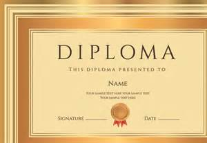 diploma certificate template free vector download 13 008