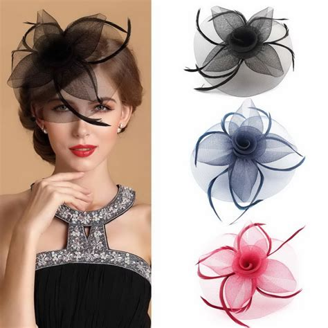 Wedding Hair Accessories Derby by Free Shipping Fashion Show Many Colors Church