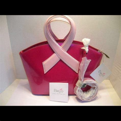Michael Kors Cosmetic Bag For Breast Cancer Awareness by 25 Beijo Handbags Beijo Pink Ribbon Breast Cancer