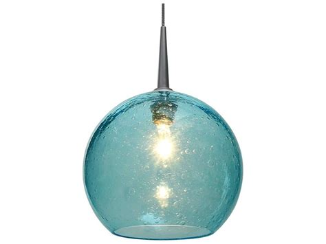 Aqua Glass Pendant Light Bruck Lighting Bobo Aqua Glass 6 Wide Halogen Mini Pendant Light Bk221971