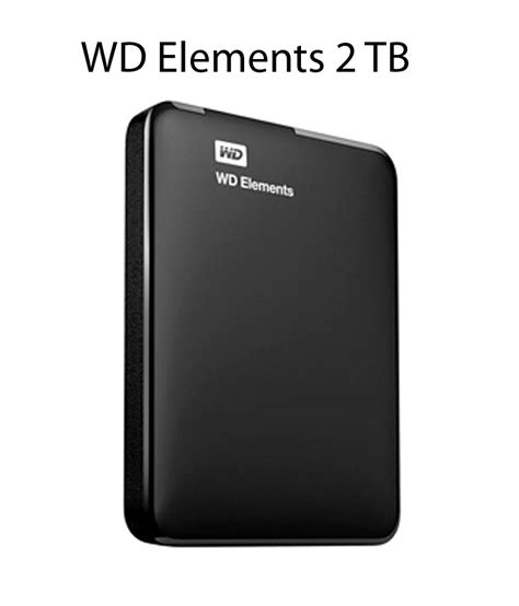 Hardisk External Wd wd elements 2 tb external drive buy rs