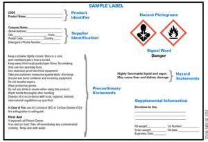 free ghs label template ghs hcs standards changing chemical drum labels