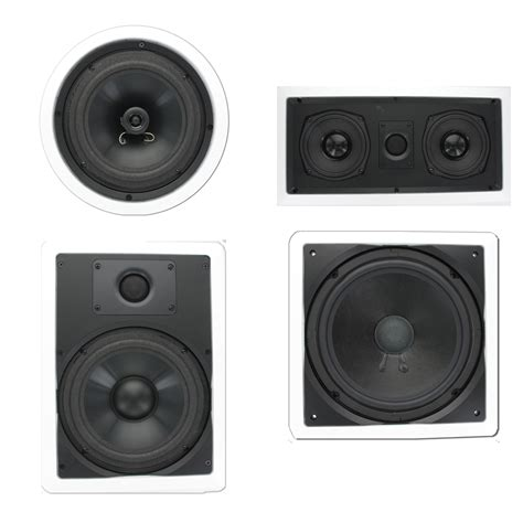In Ceiling Speakers Home Theater by Theater Solutions Tscst85 In Wall Ceiling 1150w Home