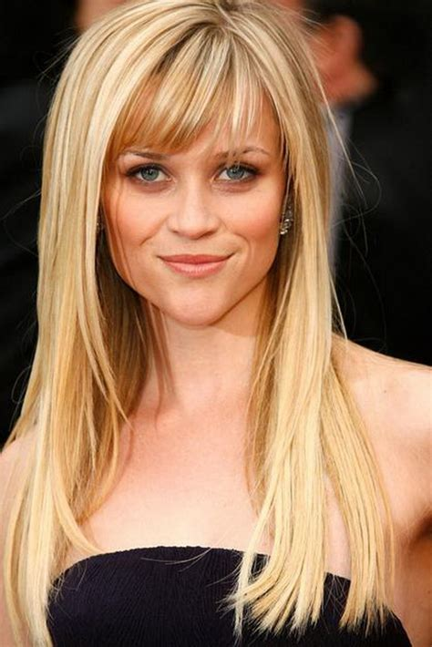 www hair stlyes photos the different reese witherspoon hairstyles with bangs