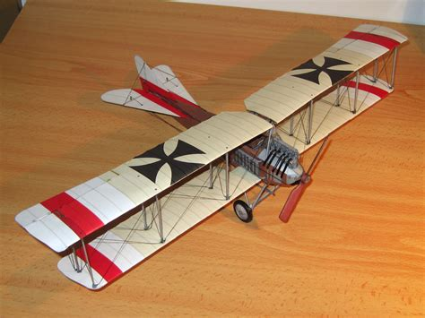 How To Make Paper Models - file albatros b i paper model jpg