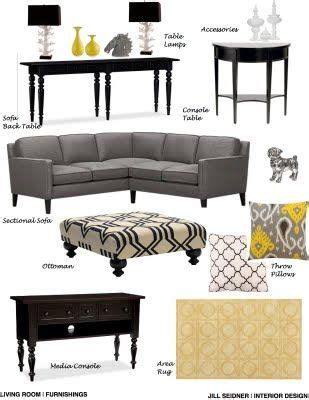 living room furnishings concept board jill seidner jill seidner interior design concept boards living