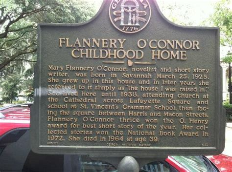flannery o connor childhood home picture of flannery o
