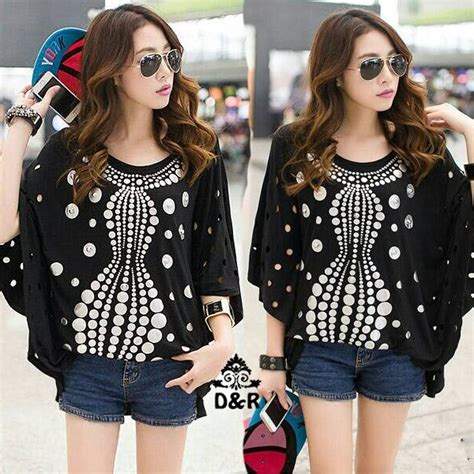 Big Kenzo Baju Atasan Blouse Wanita Bigsize Jumbo Katun Rayon baju atasan blouse wanita big size cantik terbaru murah
