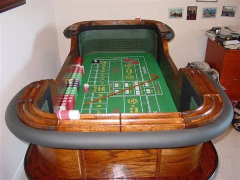 build your own craps table my other half