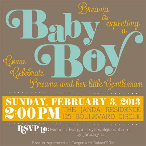 customized baby shower invitations theruntime