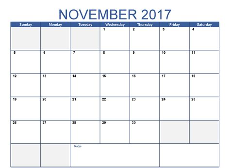 Calendar Doc Calendar November 2017 Doc Calendar And Images