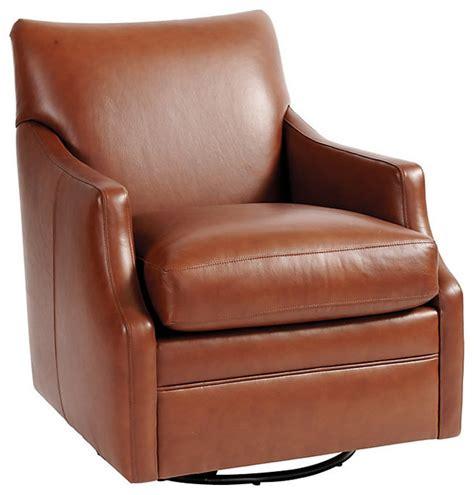leather swivel glider rocker larkin leather swivel glider traditional rocking