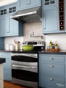 colored kitchen cabinets kitchen cabinet paint color with gorgeous blue for