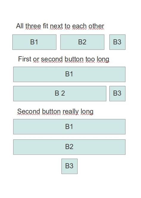 layout java button java automatically arranging gwt buttons depending on
