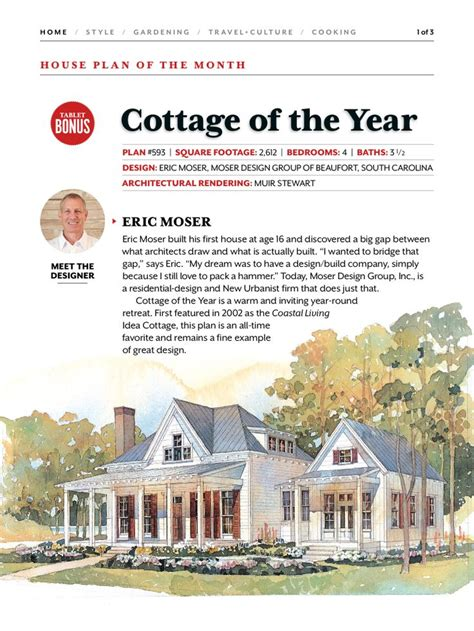 coastal living cottage of the year 25 best cottage of the year images on pinterest cottage