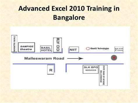 tutorial excel 2010 advanced advanced excel 2010 training in bangalore