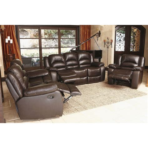 leather reclining sofa and loveseat set furniture reclining leather sofa and loveseat set