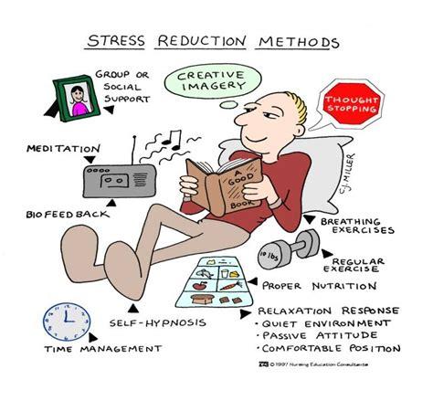stress relief popular stress management tactics healthboss org