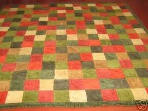 Woolrich Quilts by 5 Inch Block Woolrich Corduroy Quilt Quilted