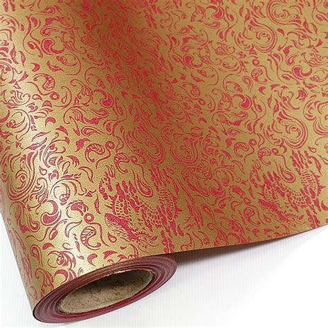wrapping paper in bulk metalic gold bulk roll wrapping gift paper 65ft 20m ebay