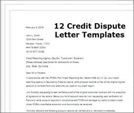 Template Letters To Creditors Credit Dispute Letter Template Best Template Idea