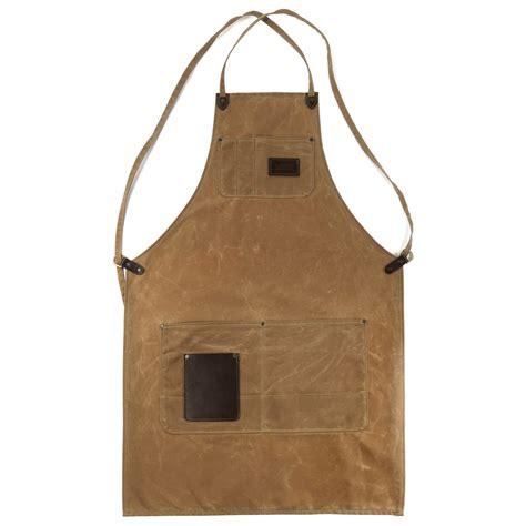 woodworking shop apron the winston apron brush brown clouds collective
