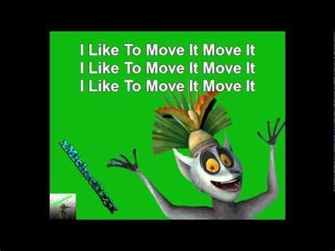 Lemur I Like To Move It Move It by King Julian I Like To Move It Www Pixshark Images