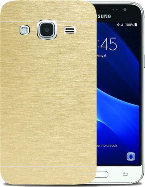 Cover Samsung Galaxy J3 J3 2016 Motomo Metal Soft Jacket Ring motomo back cover gold galaxy j3 2016 skroutz gr