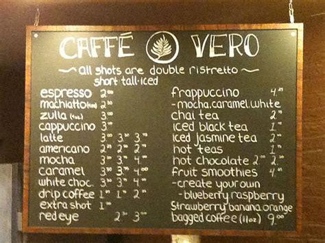local coffee shop chalkboard menu almost too neat coffee shop menu ideas www imgkid com the image kid