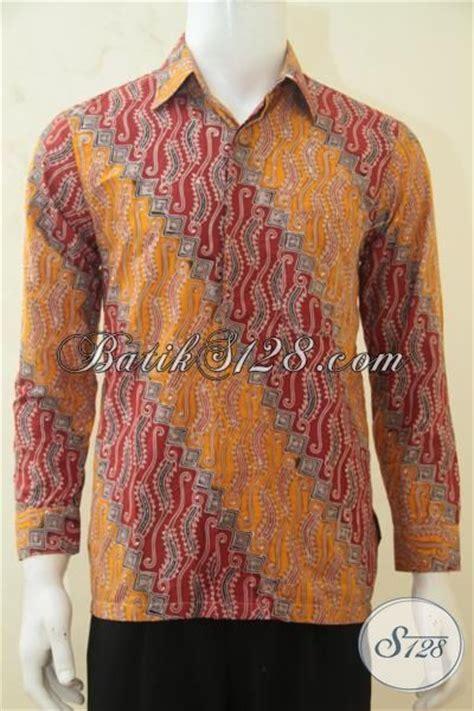 Baju Hem Panjang Remaja baju batik cap tulis premium hem batik halus berbahan adem baju batik lengan panjang klasik