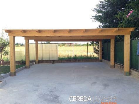 legname per tettoie tettoie in legno per auto cereda legnami agrate brianza