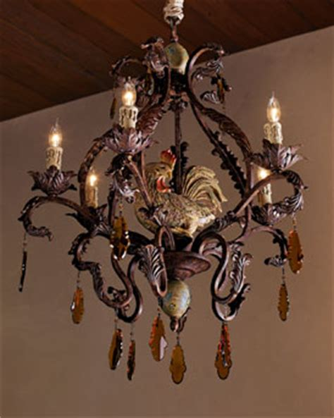 rooster chandeliers tracy porter rooster chandelier