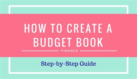 budget book 101 to make you a finance read this