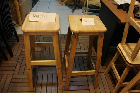 Kursi Bakso jual kursi kayu kursi bakso 75 cm waikiki wow furniture
