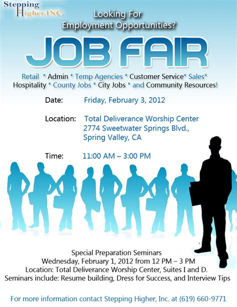 career flyer template best photos of career fair brochure fair brochure