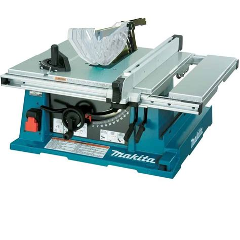 makita bench saw makita 2705 10 inch contractor table saw review power