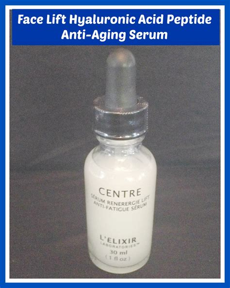 face lift hyaluronic acid peptide anti aging review the