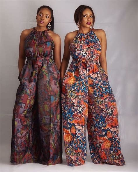 jumpsuit with ankara we love these beautiful ankara jumpsuits a million