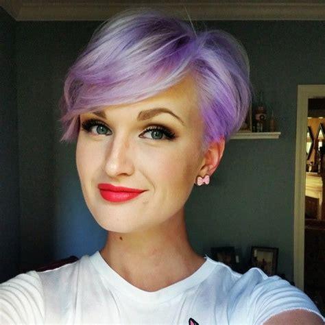 Best 20  Purple pixie cut ideas on Pinterest   Pixie cut