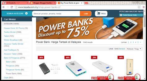 Powerbank Di Lazada oh budax b beli powerbank di lazada secara