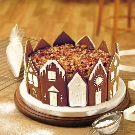 Delightful Pictures Of Christmas Cakes #2: 11ccd06a66bd76f1f8936b33666411a7--gingerbread-cake-gingerbread-village.jpg