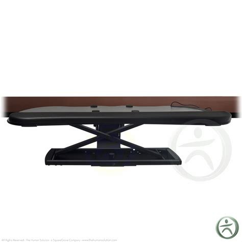 Neutral Posture Standup Convert Your Keyboard Tray To A Stand Up Desk Conversion Kit