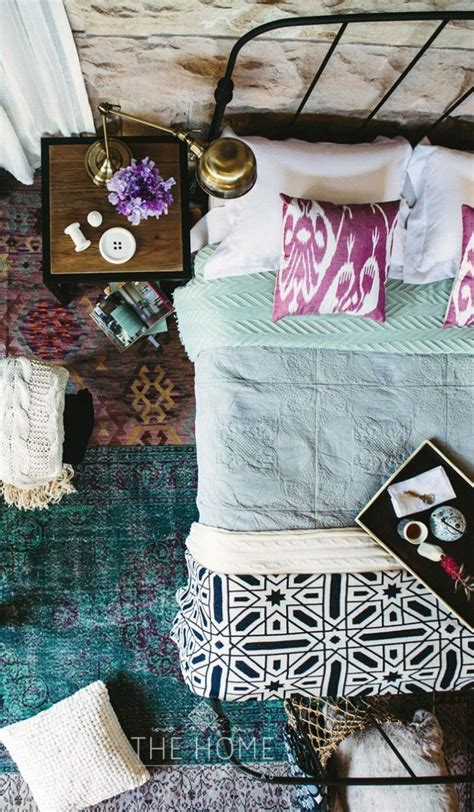 bohemian inspired bedroom 48 refined boho chic bedroom designs digsdigs