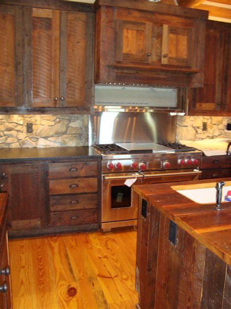 barn wood kitchen cabinets evolution of rustic live edge wood littlebranch farm