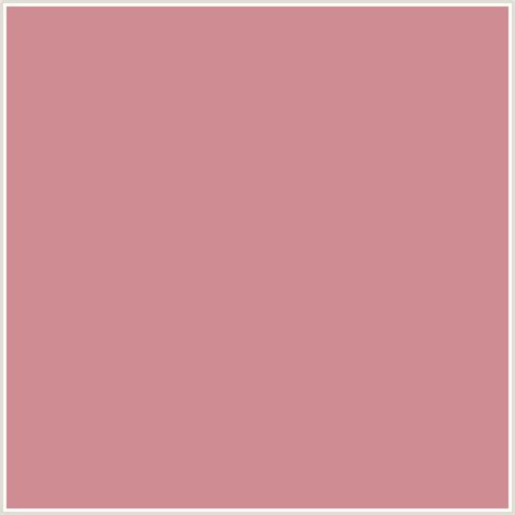 puce color cf8c93 hex color rgb 207 140 147 puce red