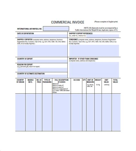 lease invoice template   word excel  format   premium templates