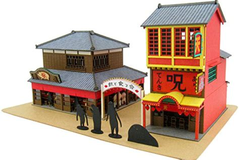 Spirited Away Papercraft - paper craft kit lets you recreate the world of spirited