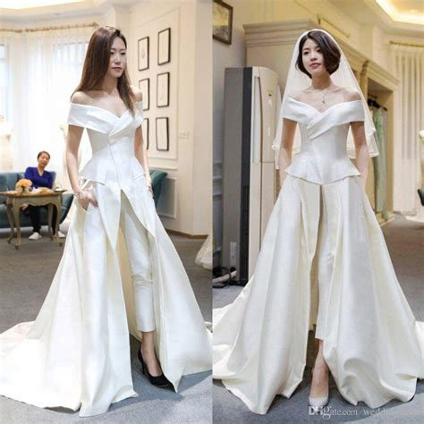 jumpsuit wedding dress wedding dress decore ideas