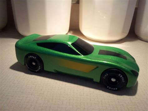 pinewood derby corvette template corvette c7 pinewood derby car images frompo