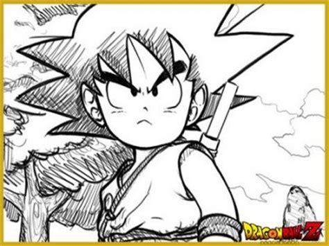 imagenes a lapiz de dragon ball z dibujos de dragon ball z para colorear o pintar imagen